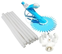 Generic Automatic Pool Cleaner 10m Hose Skimmer Fittings All Pools