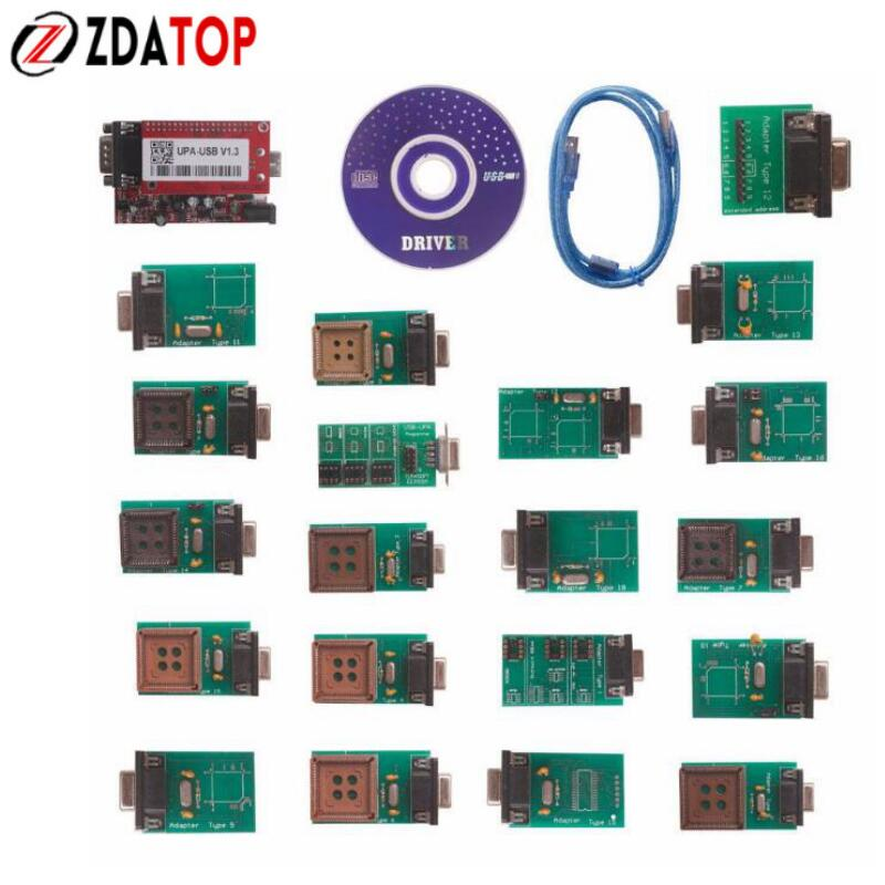 Цена за Zolizda самым высоким рейтингом Новый УПА USB программист V1.3 один год гарантии УПА USB V1.3 EPROM чип программист низкая цена УПА