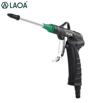 LAOA Aluminum Alloy Blow gun Air gun Jet gun Pneumatic High pressure Dust blow gun pneumatic jet chisel jex 24