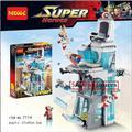 SY370 ataque Avengers Marvel Superheroes bloques de Construcción de la Torre assemblage ladrillos modelo IronMan Base
