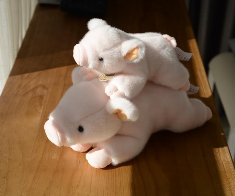 Toy Baby Super Kawaii Pink Pig  Plush Stuffed Animals Doll Toys Dolls Girlfriend Gifts Soft tumama 20cm moana pua pig anime plush toys kids gift stuffed animals plush cute softy pig doll kawaii plush