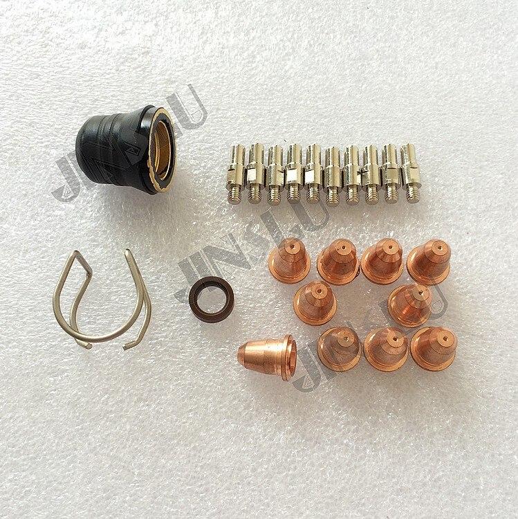 Schweißbrenner Schweißen & Löten Supplies Süß GehäRtet 23 Stücke Pr0110 Plasma Elektrode Pd0116-08 Spitze 0,8 Und Pc0116 Swirl Ring Pe0106 Isolator Cv0010 Fit Trafimet S45 Taschenlampe Gute QualitäT