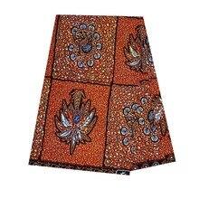 6 yards/piece! high quality africa ankara wax breathable dutch 100% cotton latest veritablel african V-L 003
