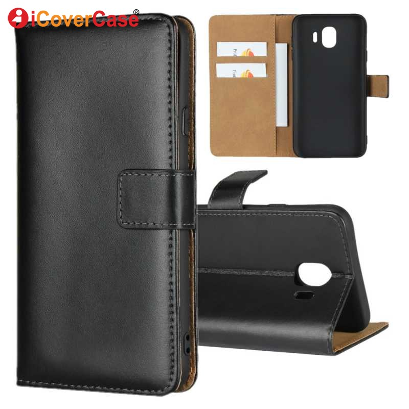 J4 Plus Cases Cover For Samsung Galaxy J4 2018 Case Flip Luxury Leather Wallet For Samsung J4+ Back Cover Coque Phone Accessory