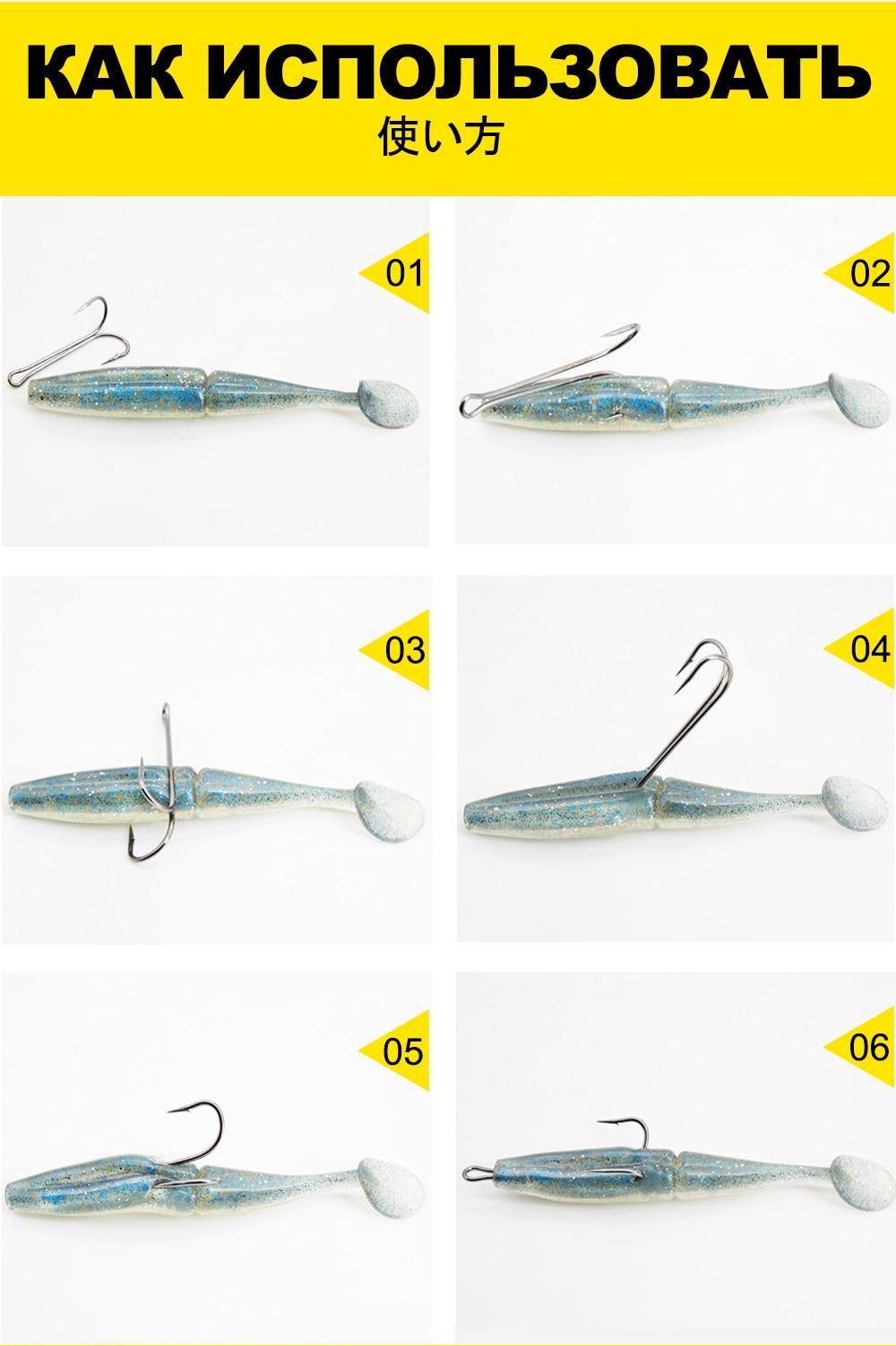 Hunthouse ganchos de pesca 10 20 30