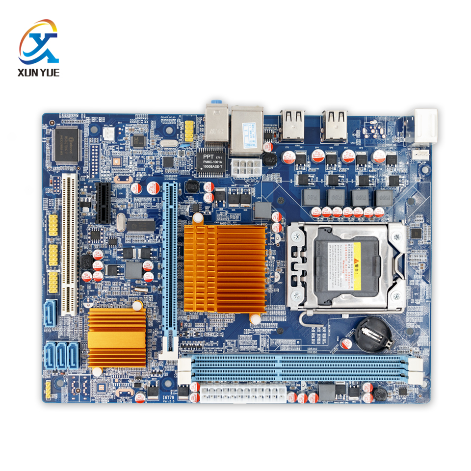 100% OEM New X58M Server/Desktop Motherboard X58 LGA 1366 Quad-Core DDR3/ECC 16G All-Solid Micro-ATX On Sale 450260 b21 445167 051 2gb ddr2 800 ecc server memory one year warranty