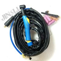 WP 17 TIG 17 Air Cooled Argon Arc Welding Torch 4M for TIG Welder seperate type (with10 25 connector)