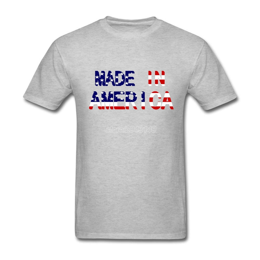 Design your own t shirt made in usa - Made In America Tee Shirts Xl Boy Design Usa Flag Cotton China Mainland