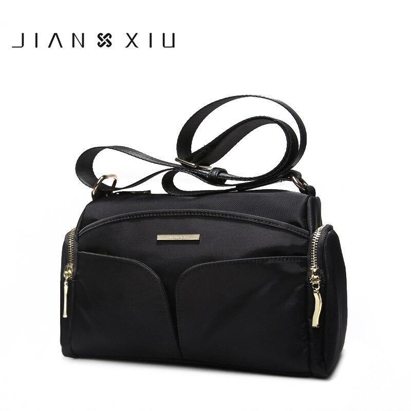 JIANXIU бренд для женщин сумки Bolsa Feminina повседневное Плечо Сумка Через Sac основной Bolsos Mujer Tassen Новинка 2017 года нейлон Большой Borse