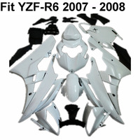 Motorcycle Full Unpainted Fairing Set For Yamaha YZF R6 YZFR6 2006 2007 YZF R6 06 07