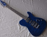 FIREHAWK Factpry Custom Tele Guitar telecastor blue color TL guitars musical instrument shop