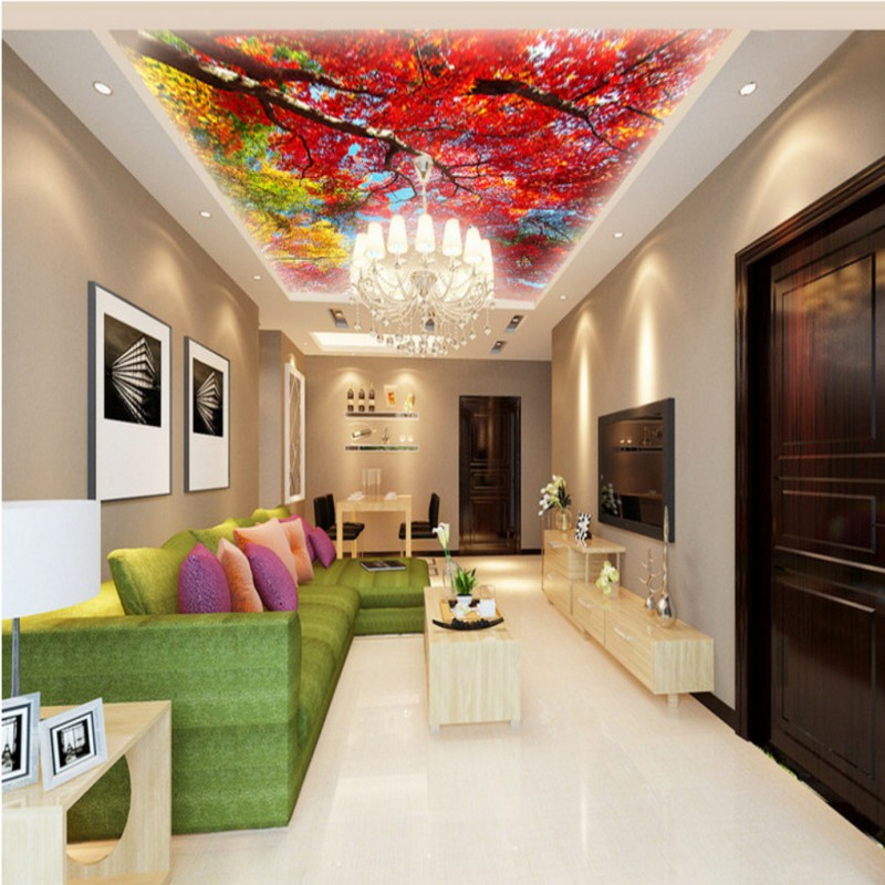 ceiling living lobby bedroom custom zenith mangrove mural lounge