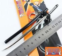 SST* Anime ( Bleach ) Kurosaki Ichigo Aizen Sousuke Sword Scabbard Sheath Katana Boy Toys Keychain Metal Weapons Cosplay Gift +
