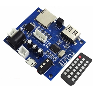 Image 1 - بلوتوث 5.0 استقبال الصوت محول لاسلكي 3.5 مللي متر قرص USB TIF بطاقة فك Mp3 لاعب مع جهاز التحكم عن بعد