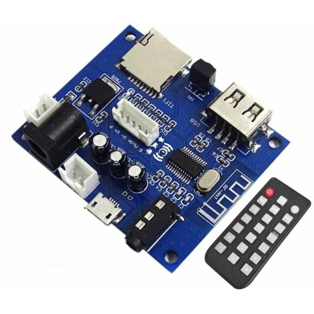Bluetooth 5.0オーディオレシーバーワイヤレスアダプタ3.5ミリメートルusbディスクtifカードのデコードMp3プレーヤーリモコン