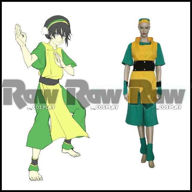 Tailor-made Anime Avatar the last Airbender character Toph bengfang Halloween cosplay costume performance  sc 1 st  AliExpress.com & Tailor made Anime Avatar: the last Airbender character Toph bengfang ...