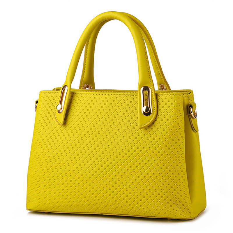 MONNET CAUTHY Female Bags Sweet Girls Elegant New Fashion Socialite <font><b>Handbags</b></font> Candy Color Blue Yellow Pink Lavender <font><b>Beige</b></font> Totes