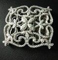 Высокое Качество Ювелирных Изделий и Компонентов 925 Sterling Silver With Cubic Zircon Замок Ожерелье Ювелирные Аксессуары Застежка DIY