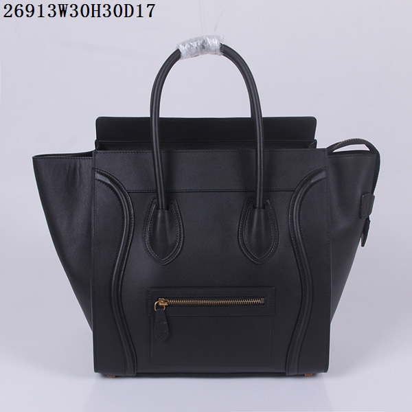 28c8cc55916c Classic style BW Designer Genuine Leather celine luggage Bags Ladies Famous  Brand Women Handbags High Quality bags