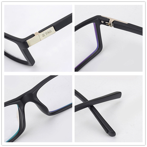 Image 5 - Hezekiah monture de lunettes Vintage pour hommes et femmes, 2019 étiquette de styliste, monture dordinateur rétro, métal, myopie, nerd 0512