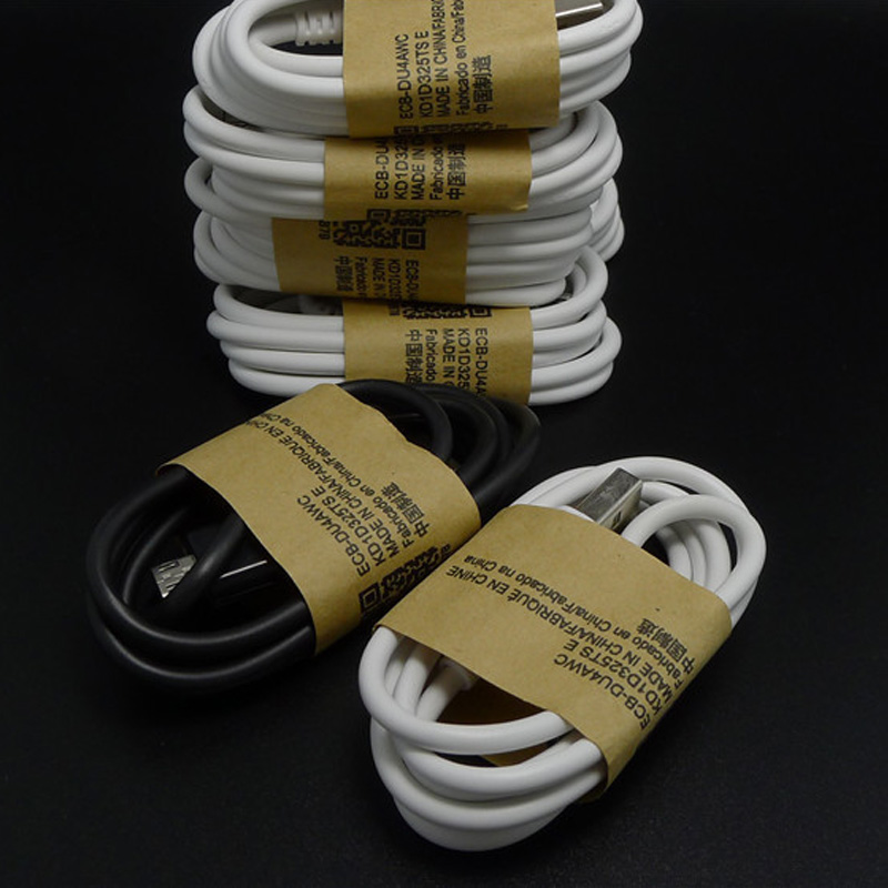 10pcs/lot 1M Micro USB Data Sync Power Cable Charging Line for Samsung GALAXY S3 S4 note2 S6 Edge Note4 for Xiaomi Android Phone