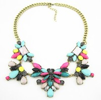2013 Collar Necklace Fashion Jewelry Vintage Retro Necklace For Women Fashion Bib Statement Necklace 2013