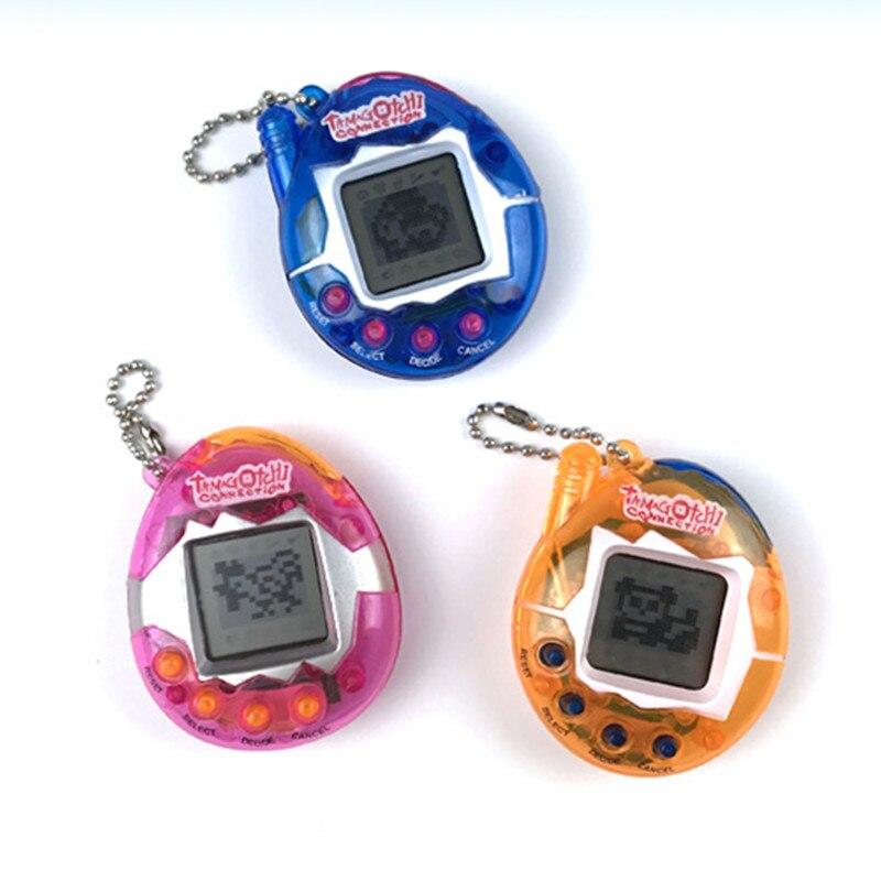 Livraison directe Tamagotchis électronique animaux jouets 90S nostalgique 49 animaux de compagnie dans un cyber-pet virtuel jouet Kering cadeau jouets pour enfant