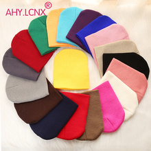 Baby Hat Cap Beanie Toddler Autumn Girl Infant Colorful Kids Warm Soft Winter Cotton