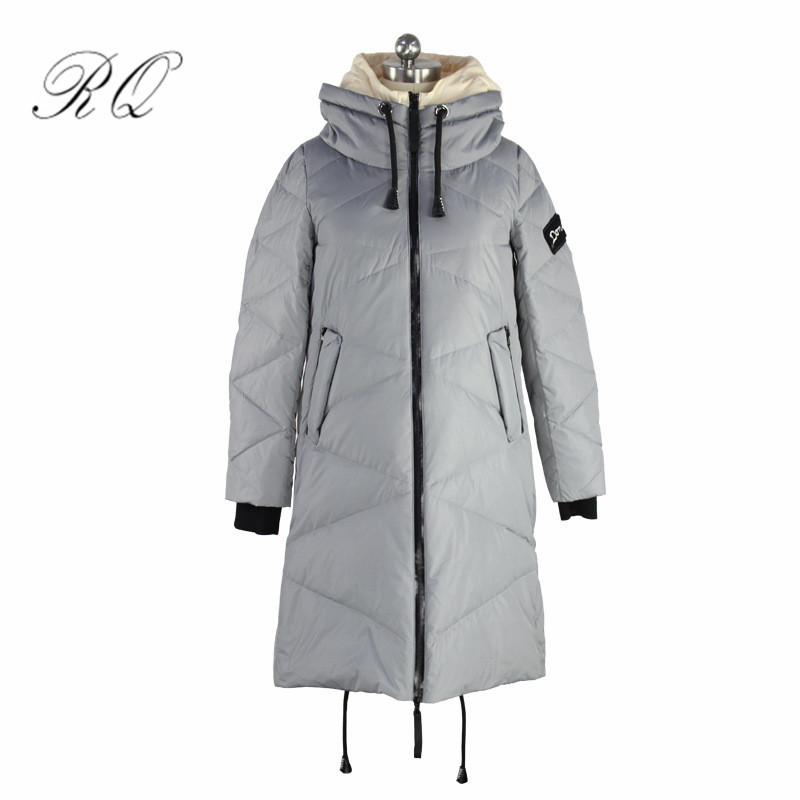 Maternity winter coat Long Loose Hooded Solid Thicken Down Coat for Pregnant Women Pregnancy Coats Outerwear Jackets yf30 цены онлайн