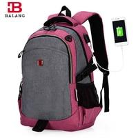 2017 BaLang Brand Laptop Bag Backpack Men Women Backpack Student College School Bags Waterproof Backpack Men
