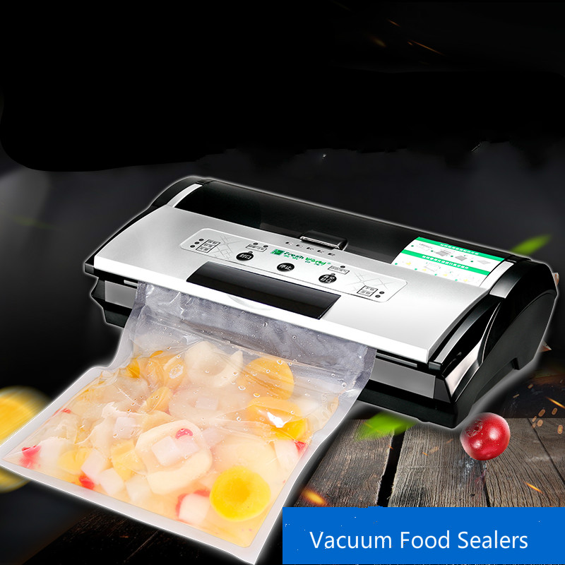 Vacuum Food Sealers dual-use commercial extractor packaging machine automatic household small sealing цены