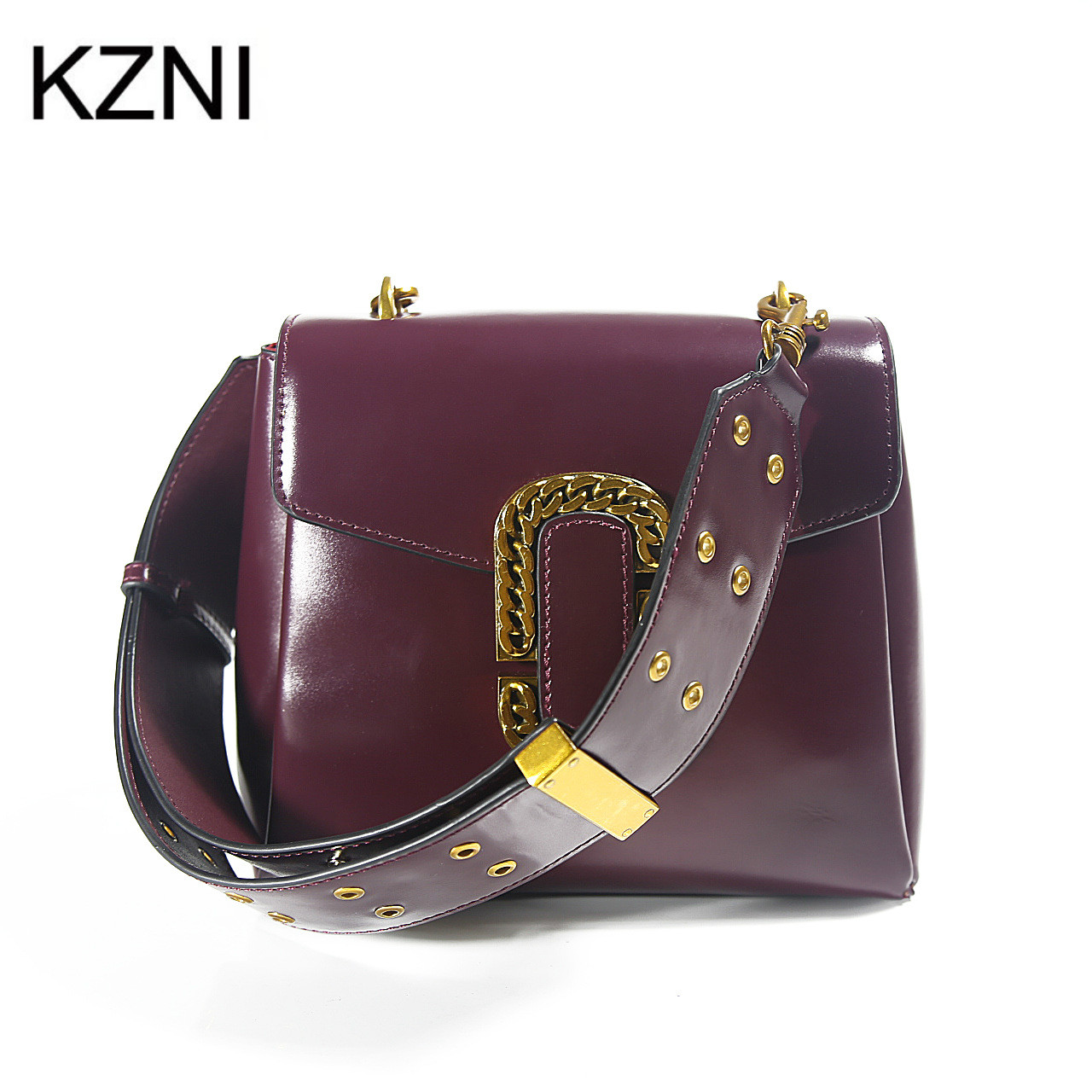 childrens designer bags 0s6d  Aliexpresscom : Buy KZNI small bags for girls designer handbags women  genuine leather handbags women messenger bags bolsas femininas L121807 from  Reliable