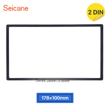 Seicane 2 DIN Car Radio Fascia reposición de Audio cubierta cara para HONDA Jazz reproductor de DVD embellecedor de Marco Kit de tablero del Panel de 178*100mm(China)