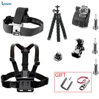 LoogDoo For Gopro Accessories 360 Degree Rotation Wrist Hand Strap Set For Go Pro Hero 5