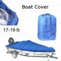 Горячая распродажа водонепроницаемый 210D лодка 17-19ft луча 125 дюймов Trailerable рыба лыж V - халл погодостойкость уф снег защищенный лодка