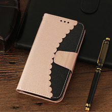 LUCKBUY Phone Case For Apple iPhone 7 Plus two colors Pattern Leather Wallet Magnetic Back Cover 8 Coque