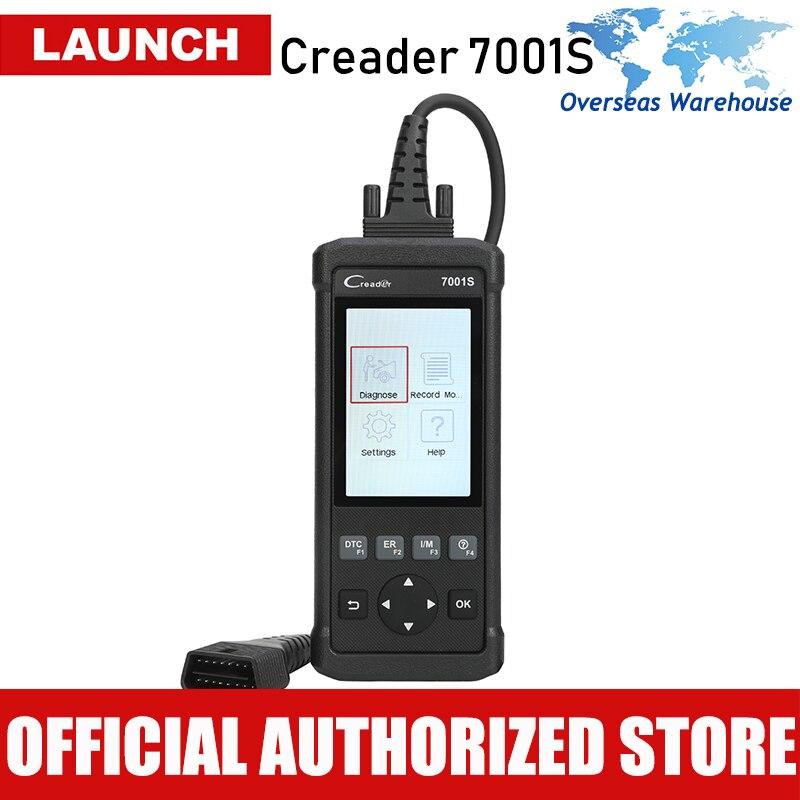 OBD2 Scanner Lançamento CReader Leitor de Código de Carro 7001 S Completa OBDII/EOBD Scanner Ferramenta de Auto Diagnóstico com ABS/ SRS/EPB/Serviço de Óleo