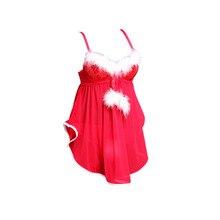 Pew Sexy Santa Weihnachten Dessous Rot/Schwarz Farbe Frauen Bh Set 3/4 Tasse Pailletten Backless Unterwäsche 32-38 a/B/C/D