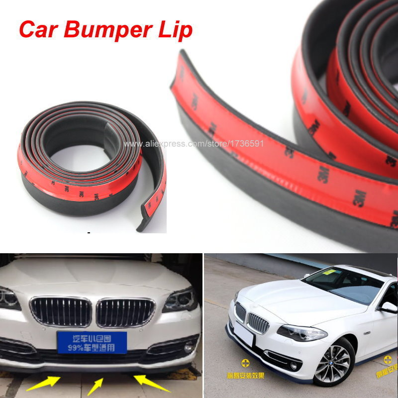 Car Front Lip Side Skirt Body Trim Bumper Lips For Bmw X1 X3 X5 M3