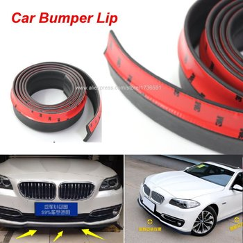 Car Front Lip Side Skirt Body Trim Bumper Lips For BMW X1 X3 X5 M3 E30 E36 E39 E46 E87 E90 E91 E92 E93 Body Kit Strip Tapes image