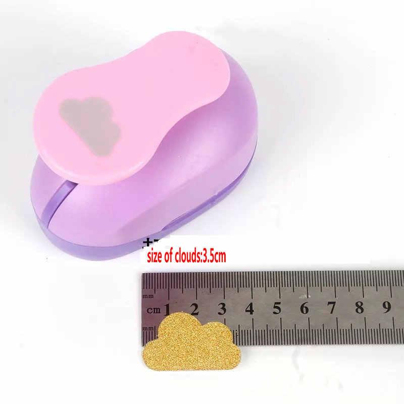 3.5 cm-7.0 cm nuages forme de papier perforateur artisanal perforateur de scrapbooking perforateur bricolage à la main perforateur en mousse EVA
