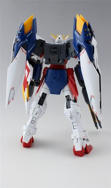 Daban Model MG 1/100 Wing Gundam Zero EW Action Figure Endless Waltz XXXG-00W0 Puzzle assembled model 18cm Robot kids Puzzle toy 4