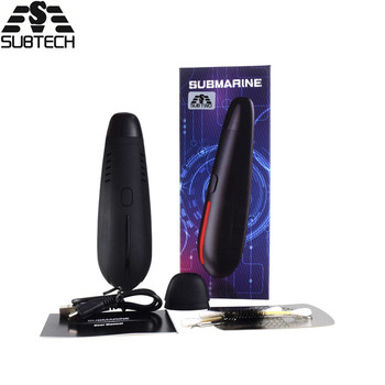 Newest SUBMARINE kit Dry Herb vaporizer pen Ceramic coil Heating Temperature Control with oled light e cigarette Vape Pen