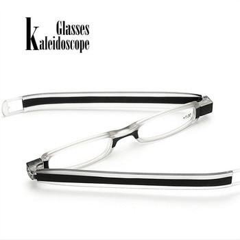 360 Degree New Folding Reading Glasses Optics HD Resin Rotating Eyeglasses Unisex Reading Eyewears