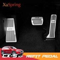 Автомобиль ремонт акселератора подставка для ног газ муфта сцепления тормозной дроссель педаль аксессуары для 2017 2018 2019 Mazda CX-5 CX5 KF