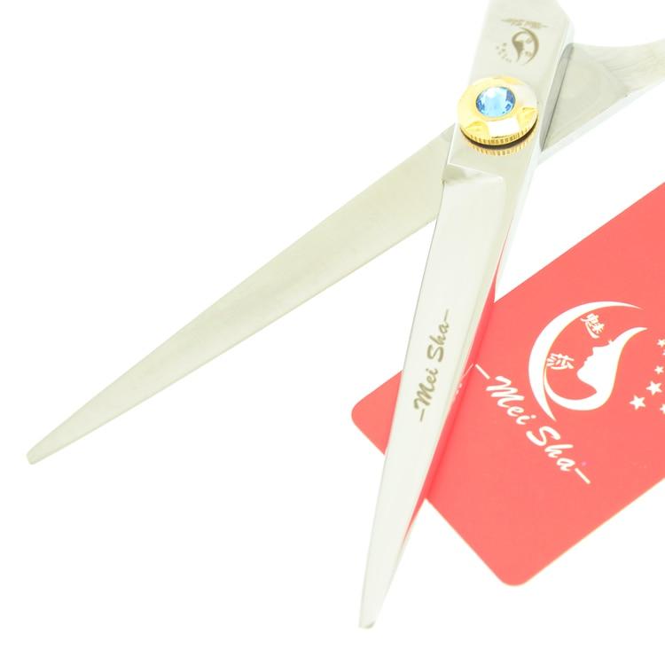 6.0Inch MeiSha Professional Hairdressing Scissors Set Sapphire Salon Hair Scissors JP440C Hair Straight & Thinning Shears,HA0258