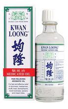Aceite para aliviar el dolor de Kwan Loong, tamaño familiar, 57ml, 2 uds.