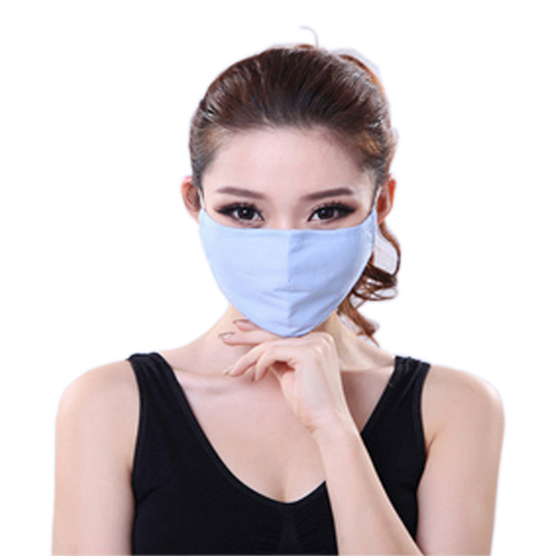 * Tcare Fashion Cotton PM2.5 Anti haze smog mouth Dust Mask + * Activated carbon filter paper * bacteria proof Flu Face Mask 13