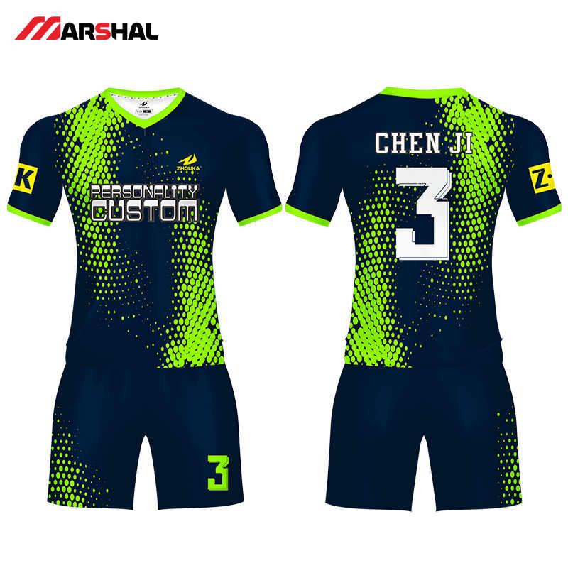 2019 encuentro sublimado ropa deportiva niños adultos equipo de camisetas  de fútbol formación juventud fútbol camisa e8e29a4b22829