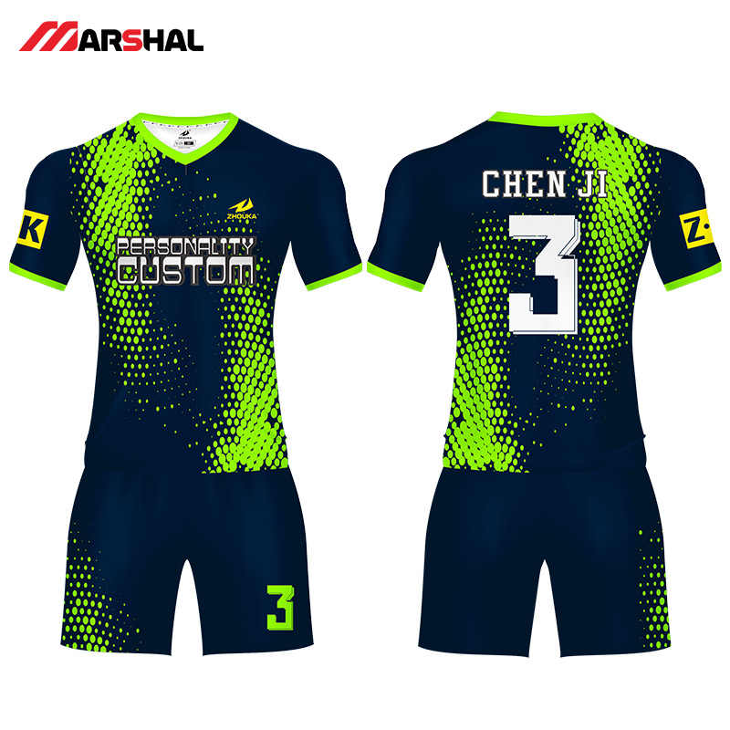 2019 jerseys de fútbol personalizados para equipo de niños